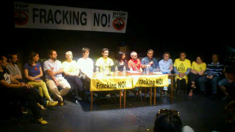 firma antifracking movimentos sociales