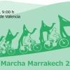 Marcha en bici a Marrakech